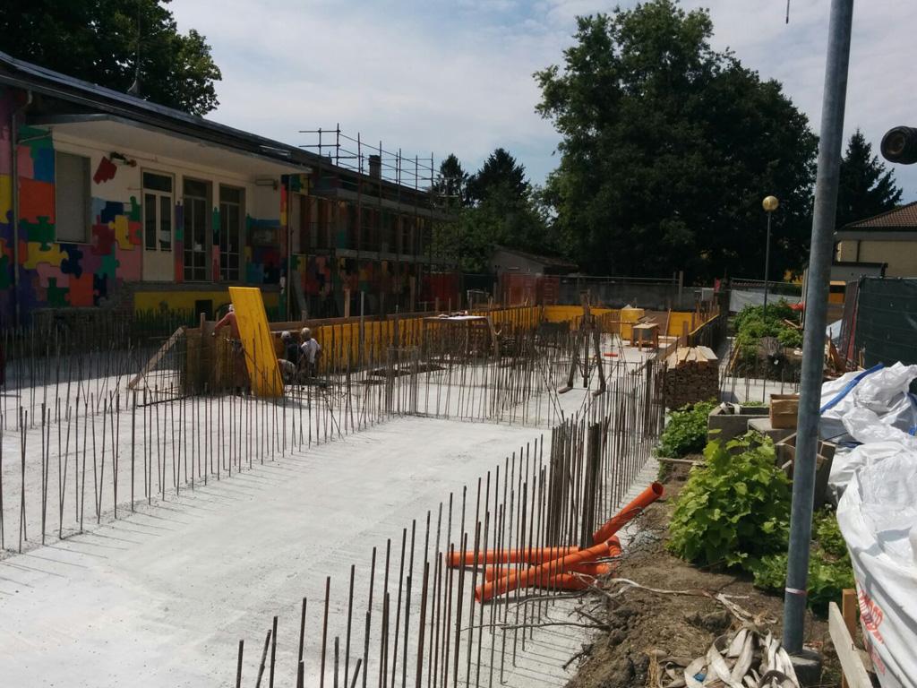 progetto e direzione ampliamento scuola primaria